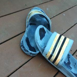 Custom addidas yeezy beluga replica flip flop